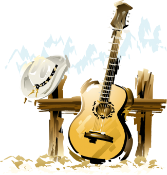 guitare_chapeau_country_music